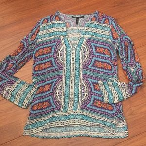 BCBG Maxazria tunic blouse like new XS